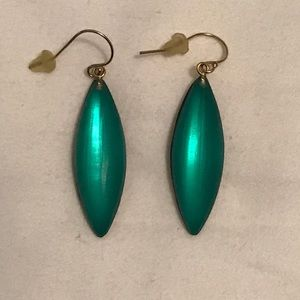 🚫SOLD🚫Alexis Bittar emerald green dangle earring